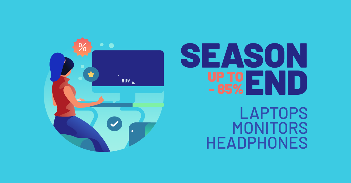 Season end - Up to -85%