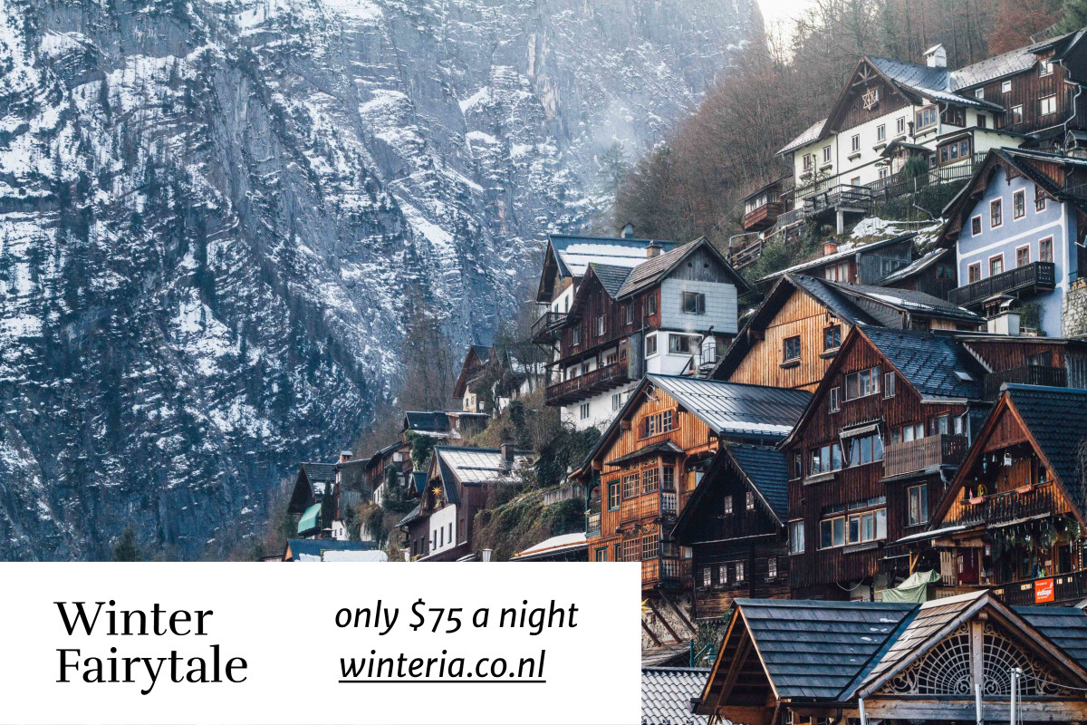 Winter Fairytale - only $75 a night