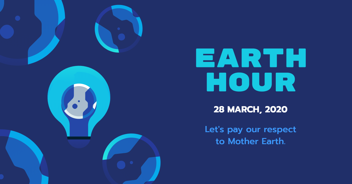Earth Hour - Pay Respect to Mother Earth