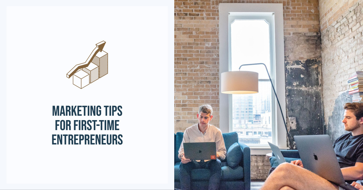 Template design for marketing tips
