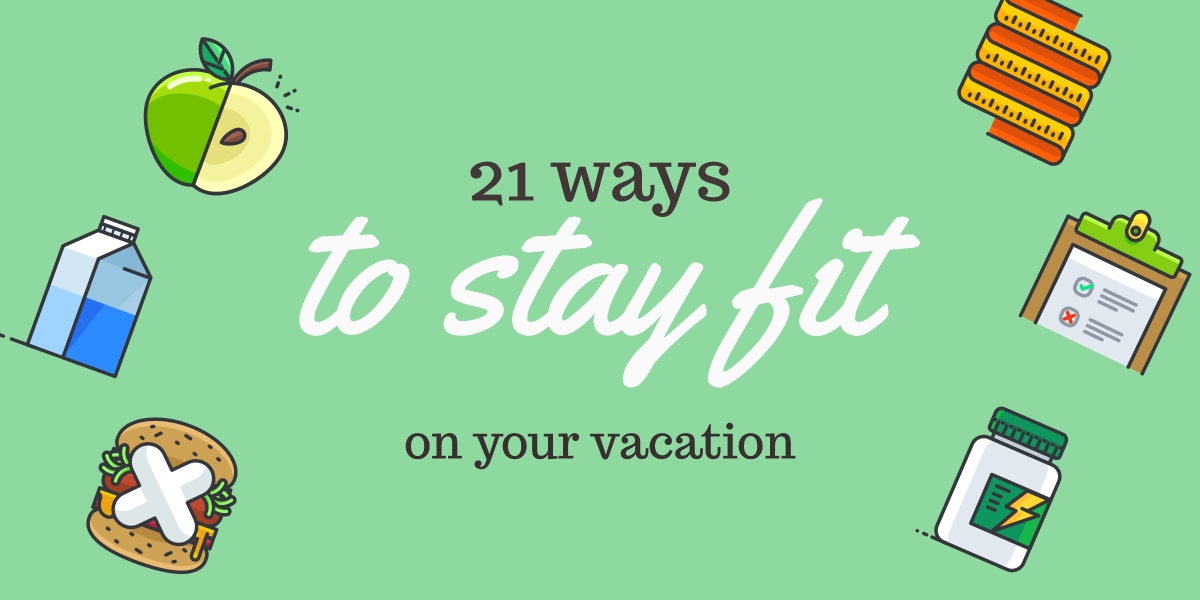 21 ways to stay fit