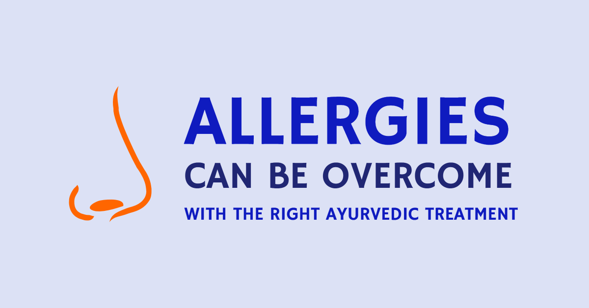Allergies can be overcome