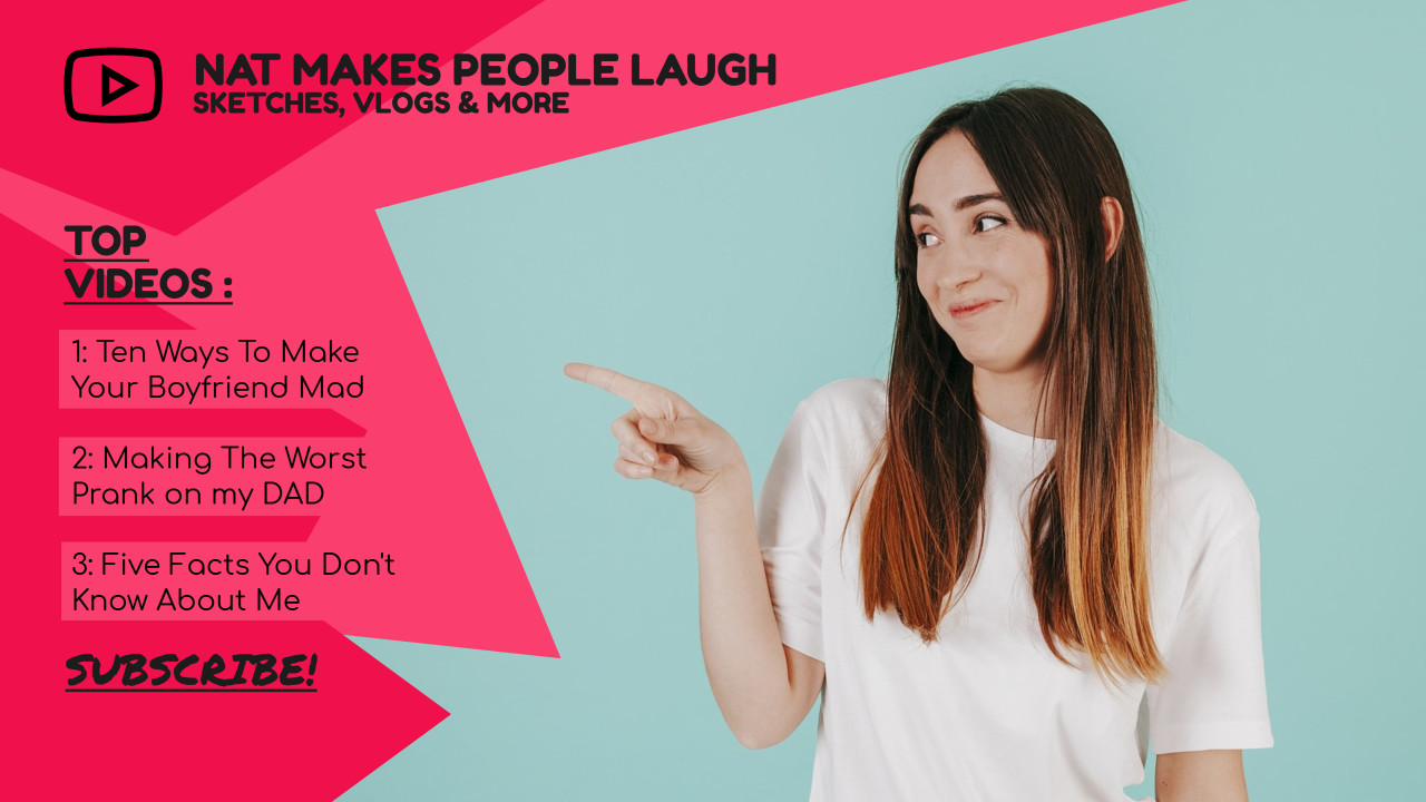 Nat makes people laugh