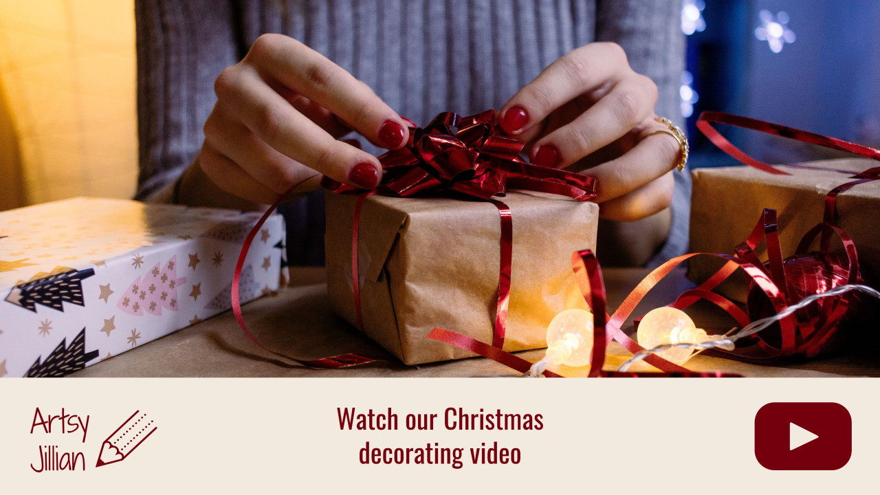 Watch our Christmas decorating video