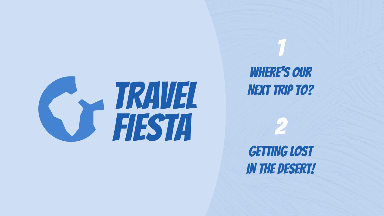 Travel fiesta plan