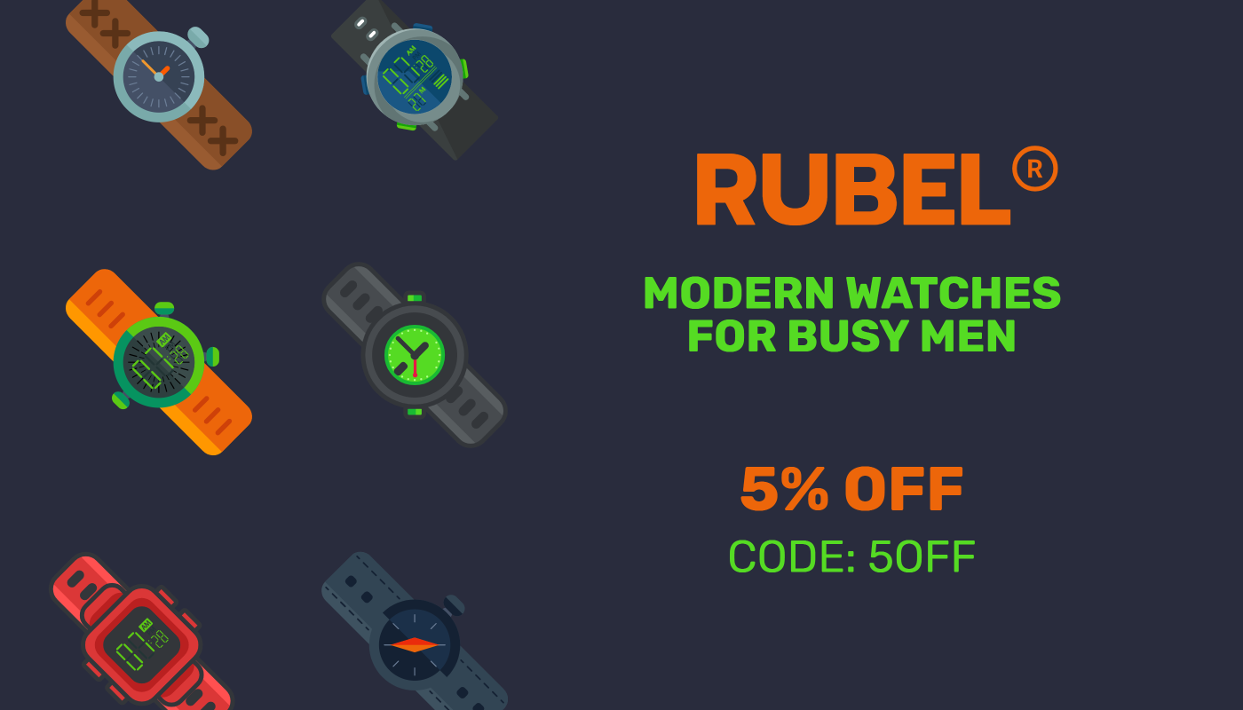Rubel - Modern watches for busy men