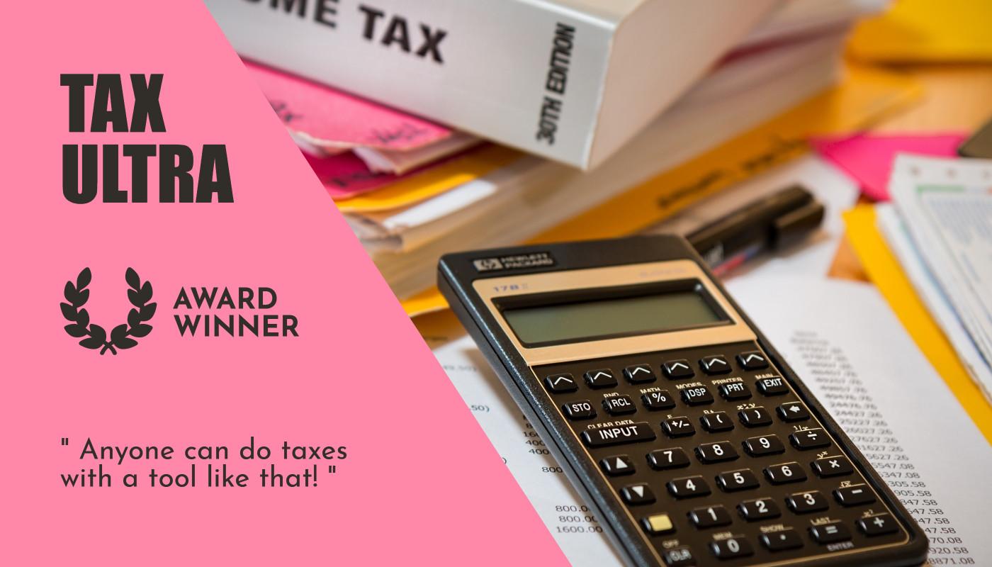 Tax ultra - Award winner