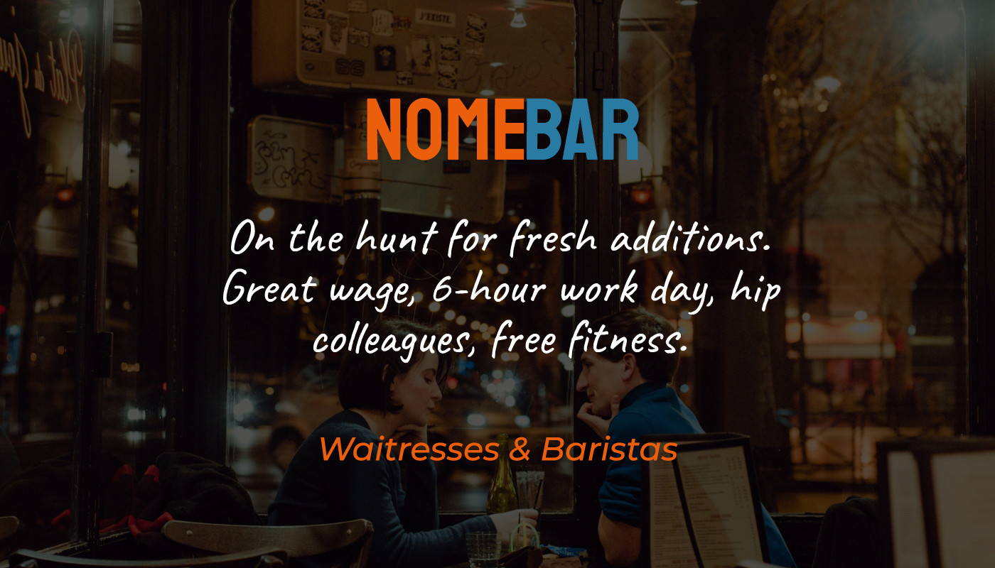 Nomebar - On the hunt for fresh additions