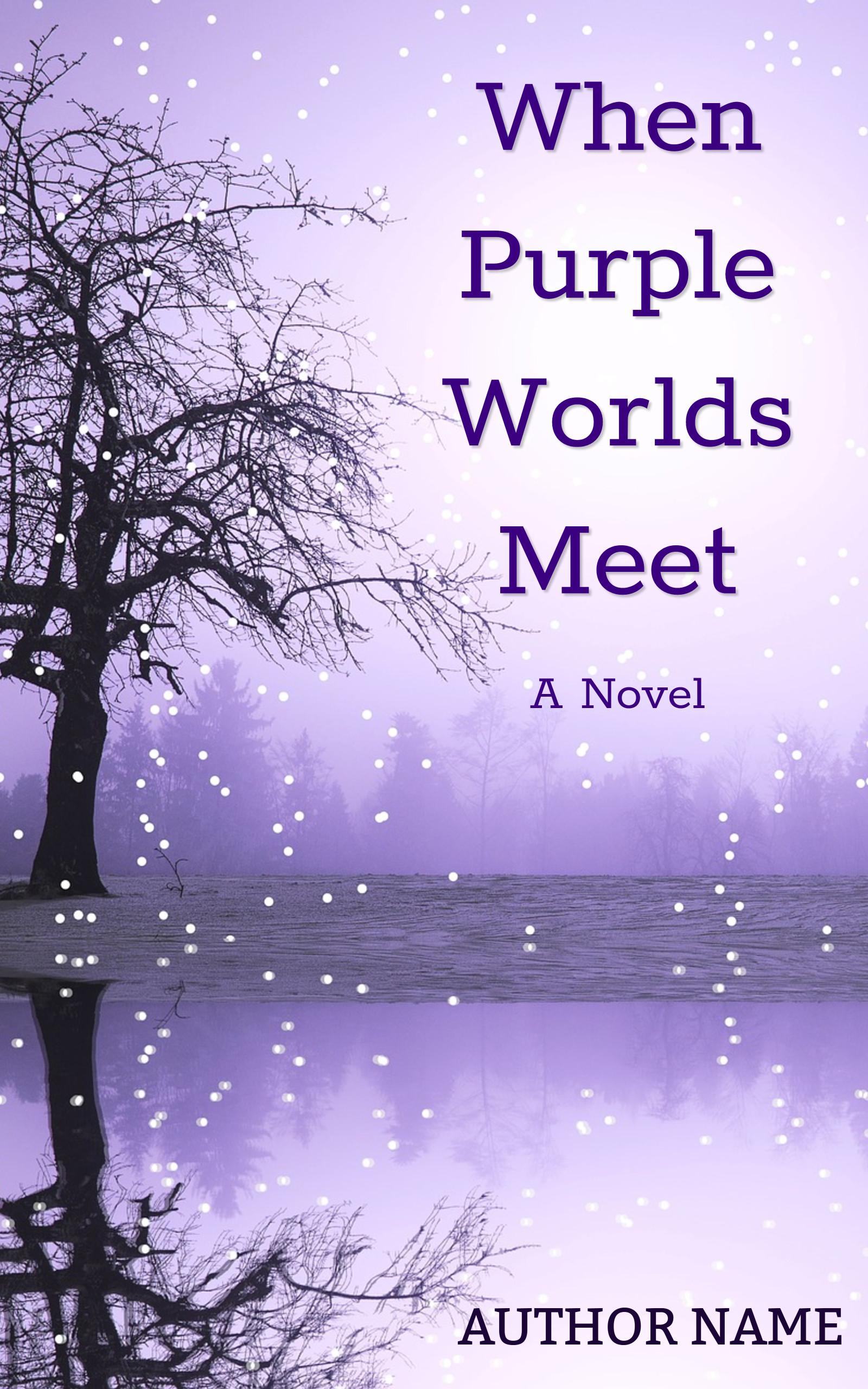 When Purple Worlds Meet