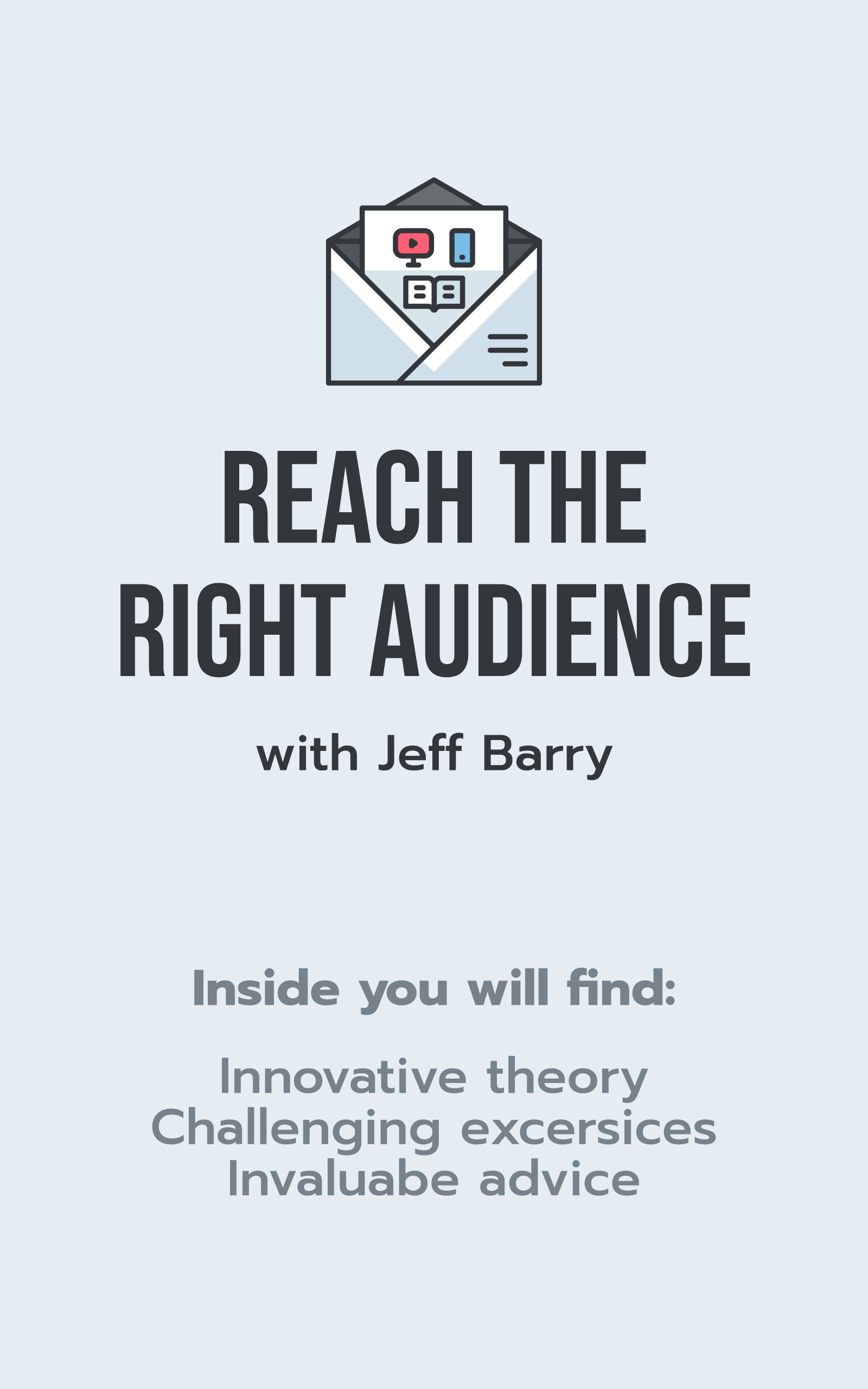 Reach the right audience with Jeff Barry - Ebook Ad