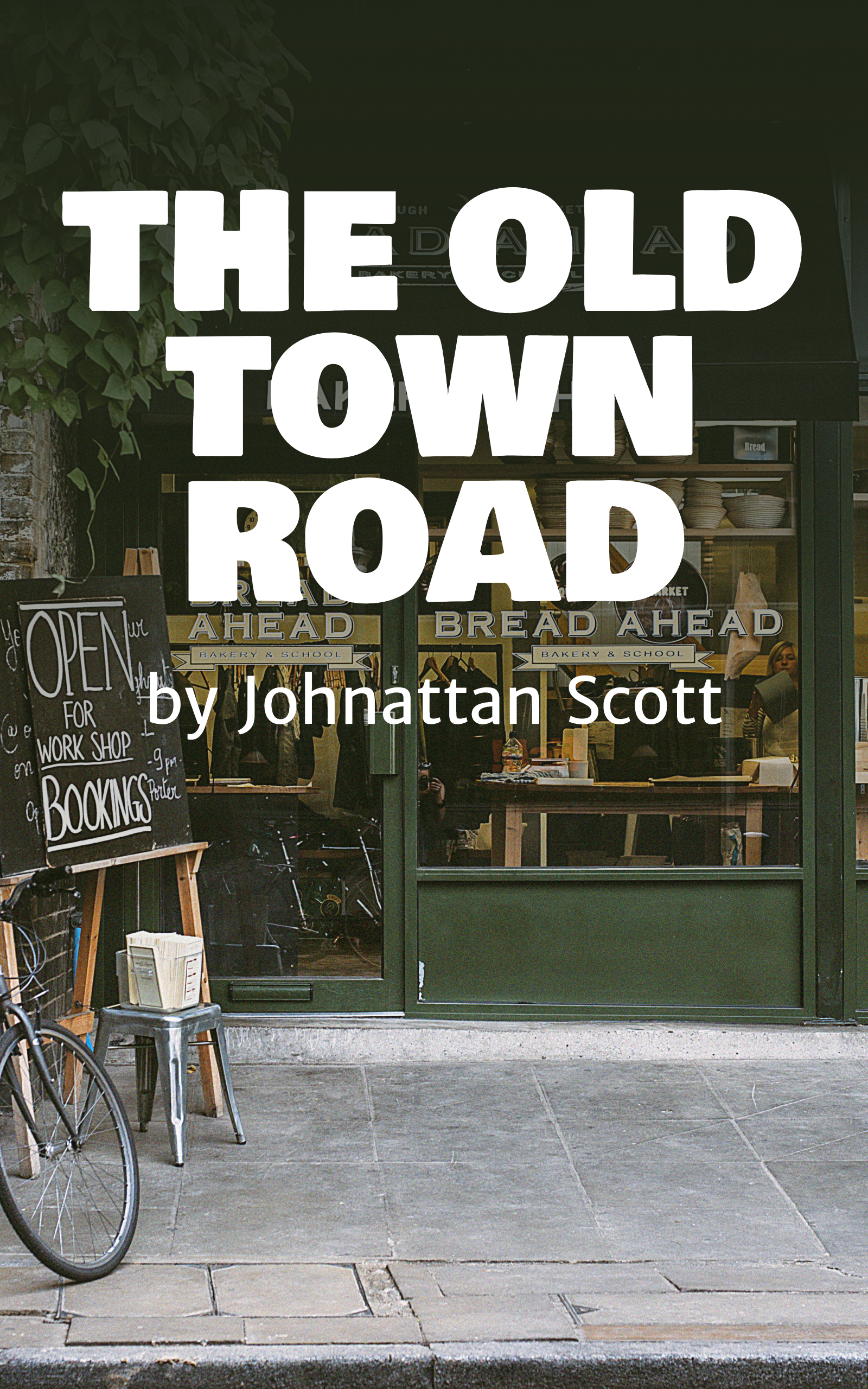 The Old Town Road - Ebook Design