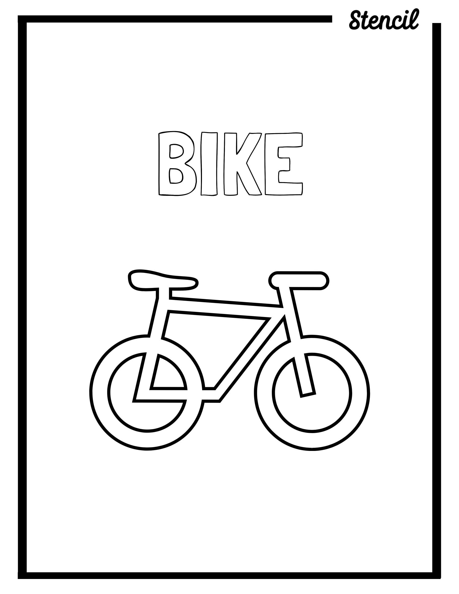 Bike Outline