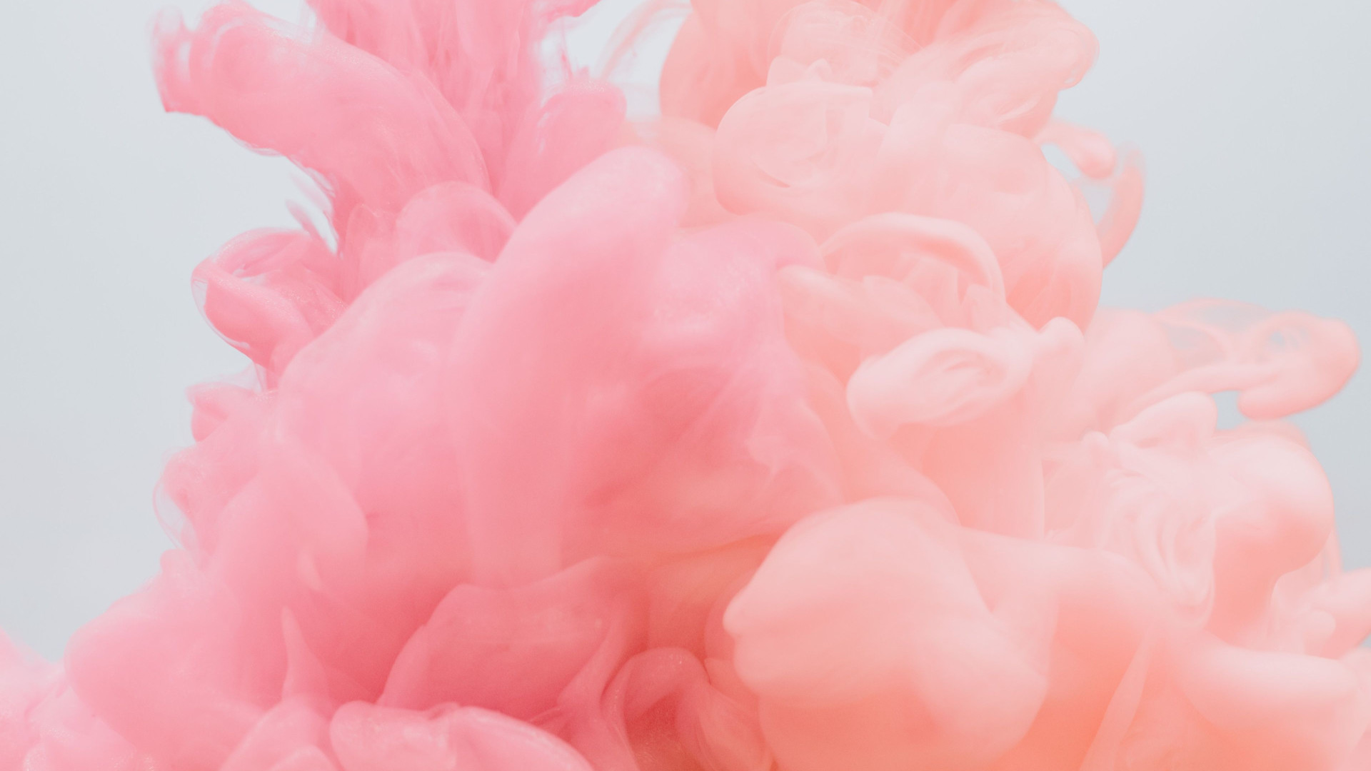 Pink Puffs - Zoom Virtual Background