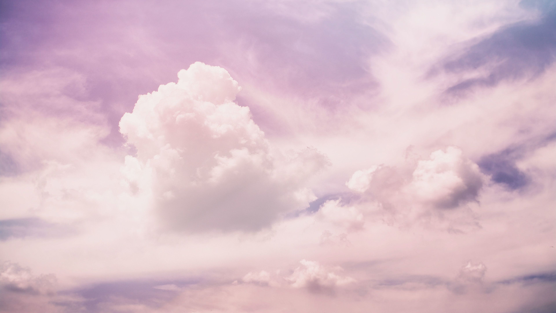 Pastel Clouds - Zoom Virtual Background