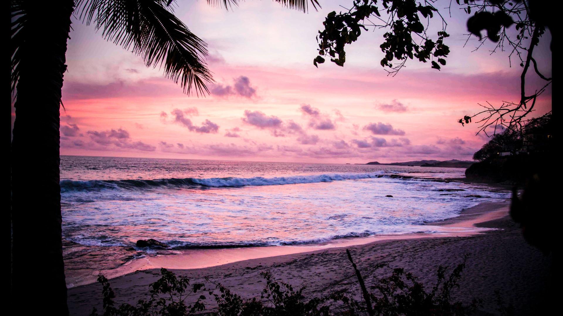 Evening Beach - Zoom Virtual Background