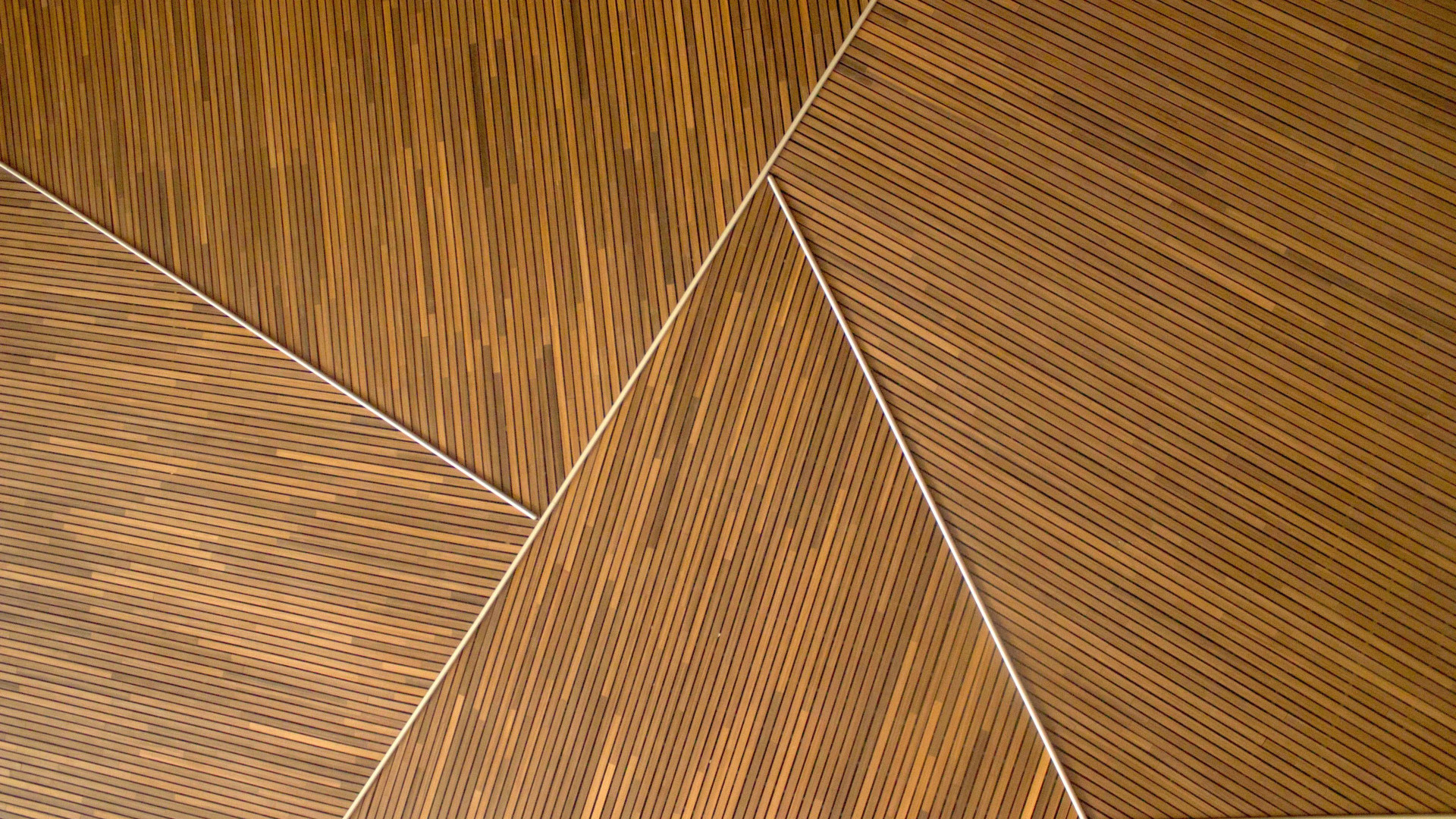 Thin Wood Angles - Zoom Virtual Background