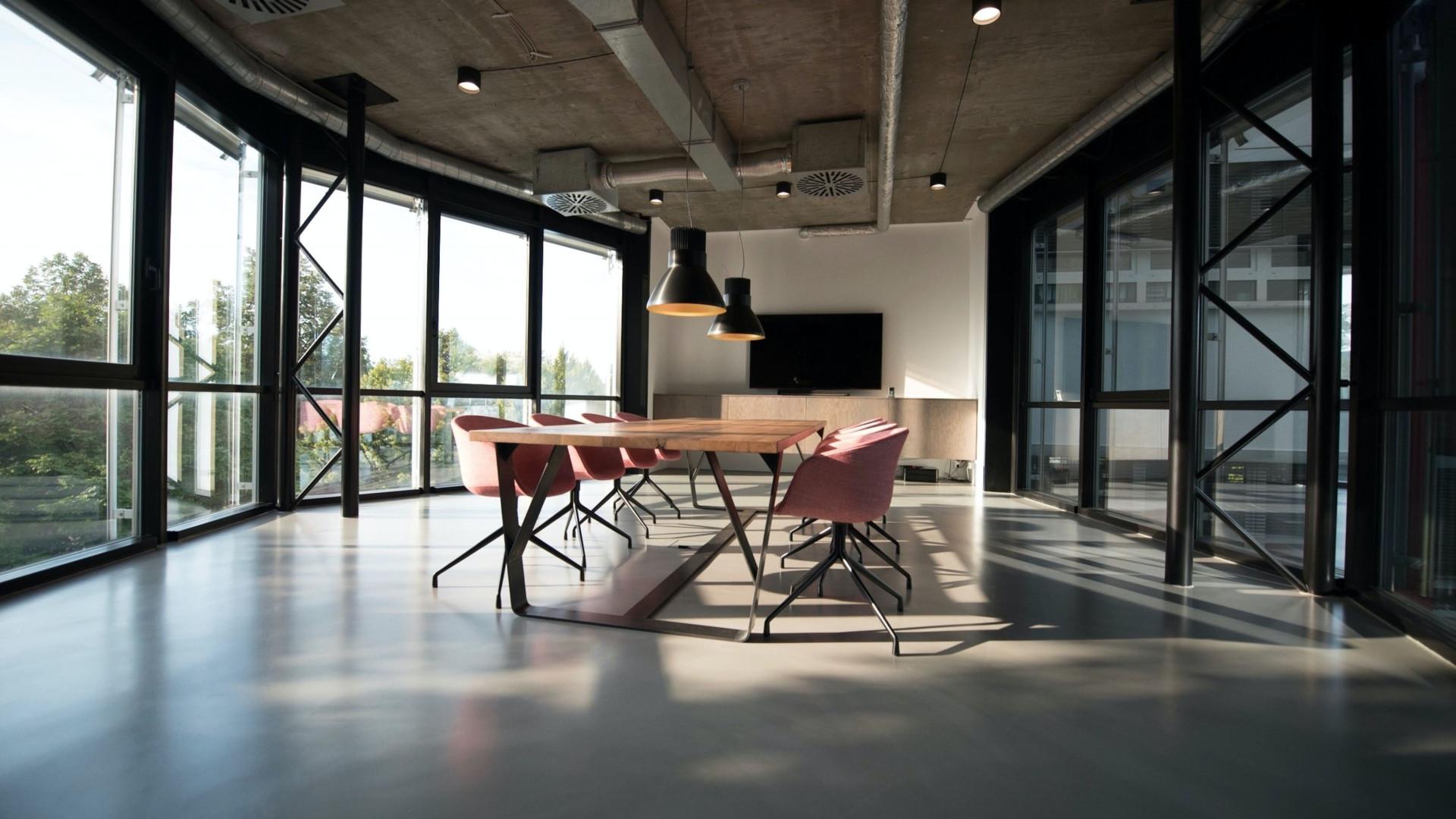 Board Room Sunlight - Zoom Virtual Background