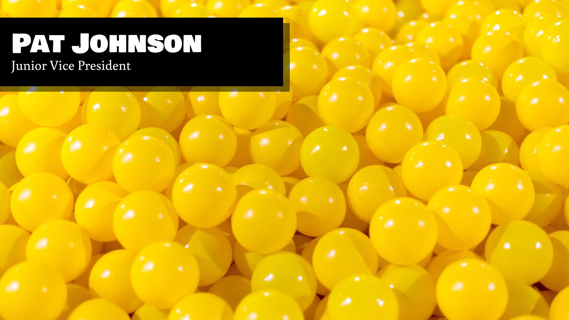 Yellow Balls - Zoom Virtual Background