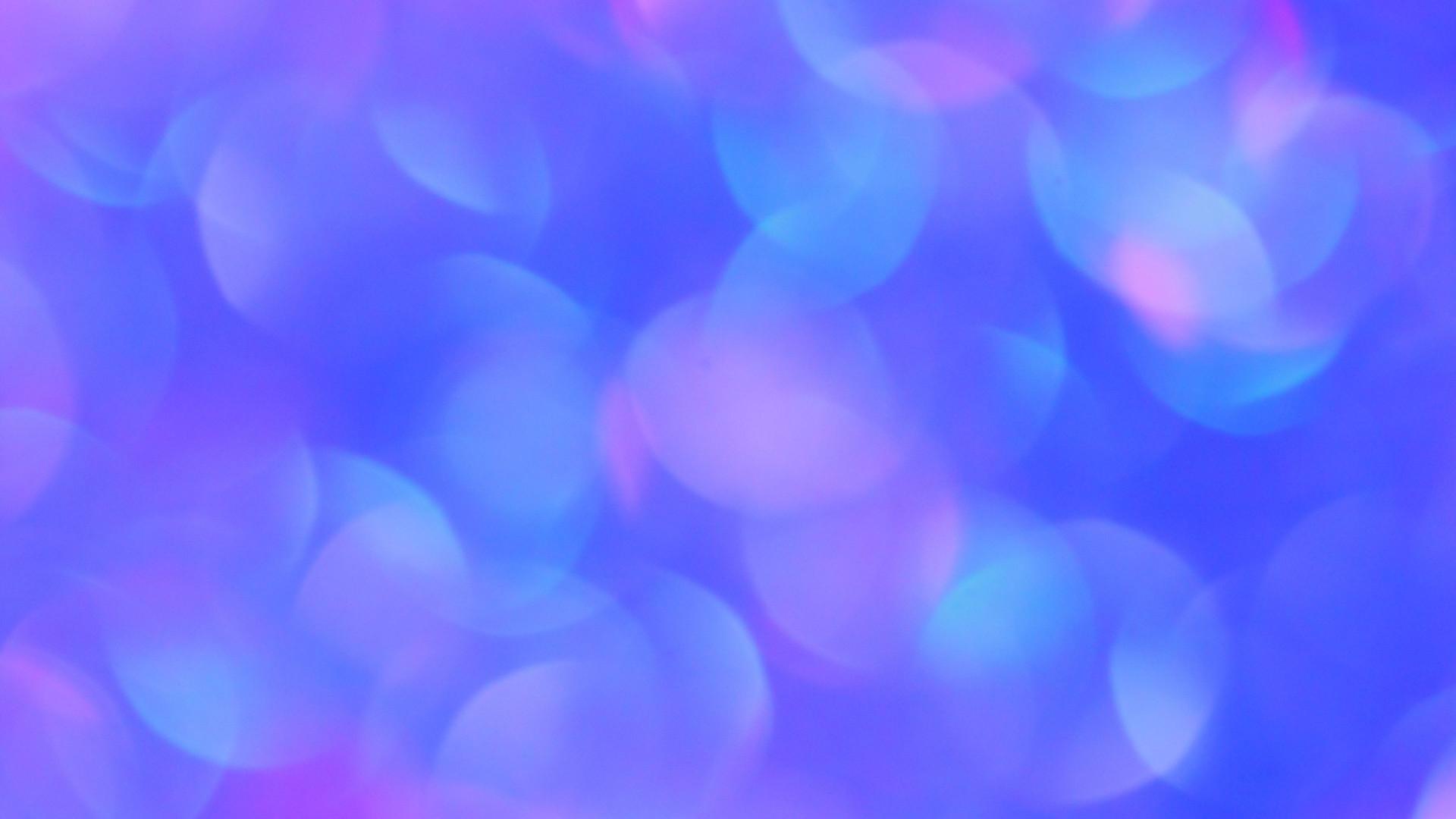 Blue Bubbles - Zoom Virtual Background
