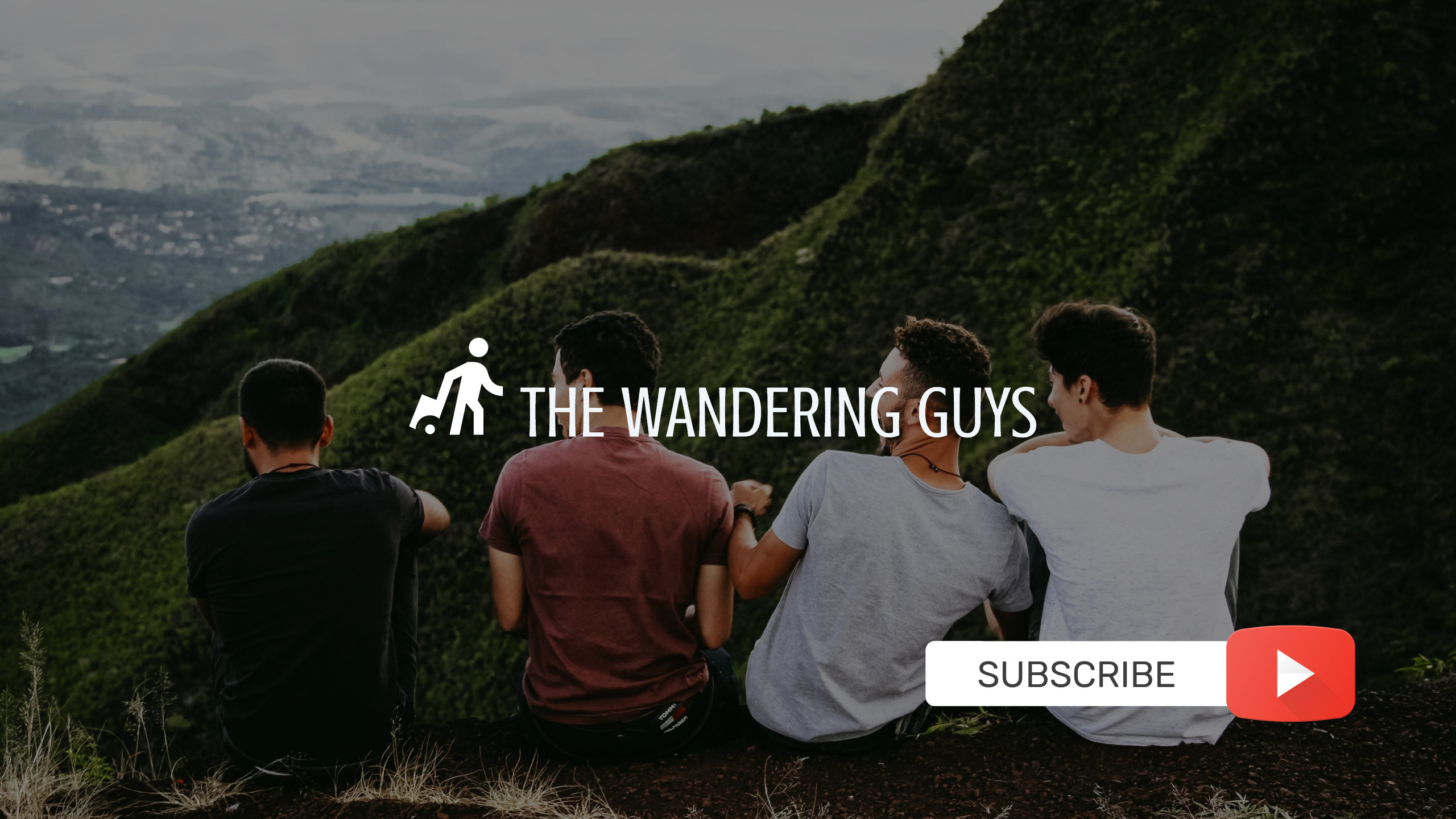 Manly Youtube Channel Cover with Subscription