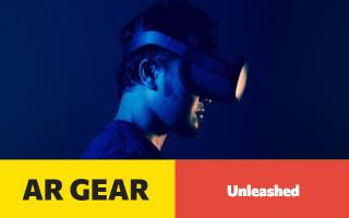 AR gear and tech advertisement