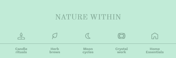 Newsletter header for Nature Within