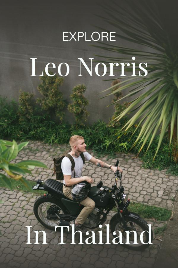 Explore with Leo Norris in Thailand