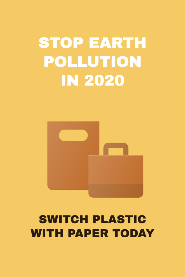 Stop Earth pollution in 2020