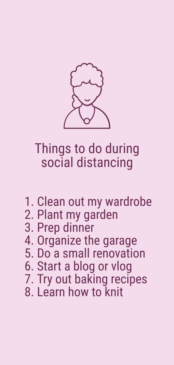 Things to do during social distancing