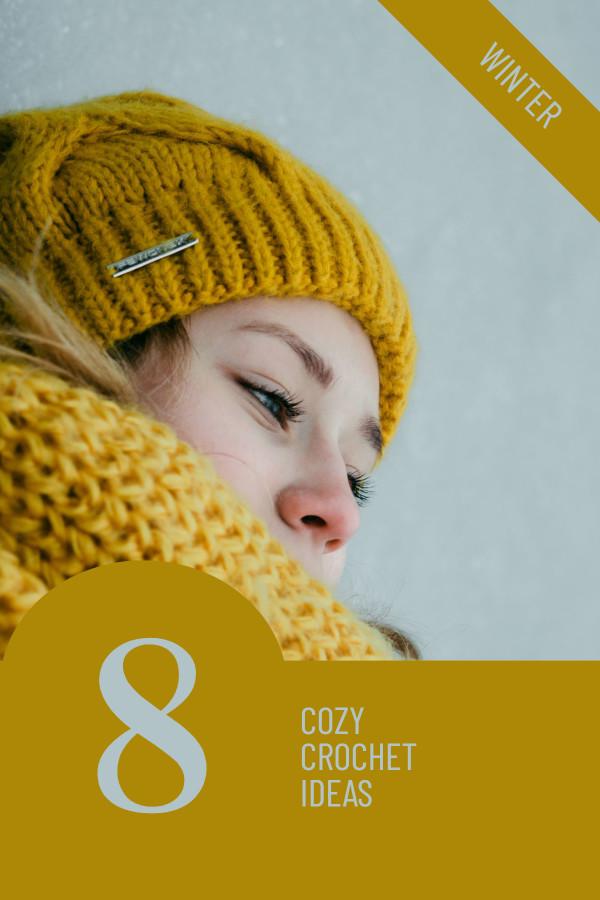 8 cozy crochet ideas