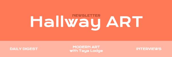 Template design for art newsletters