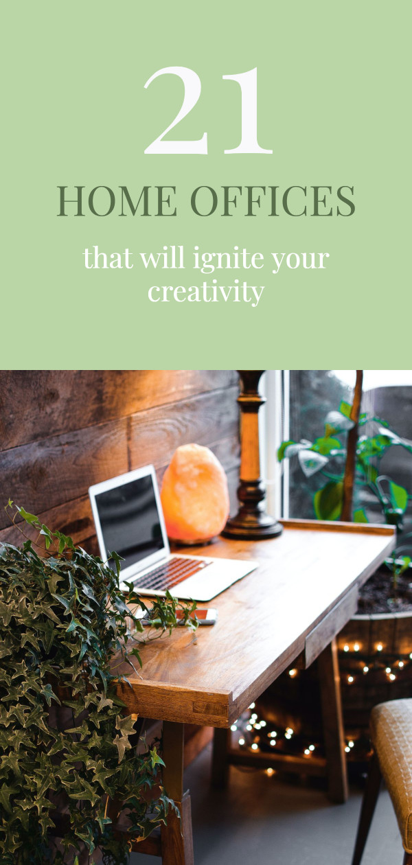 21 home offices that will ignite your creativity