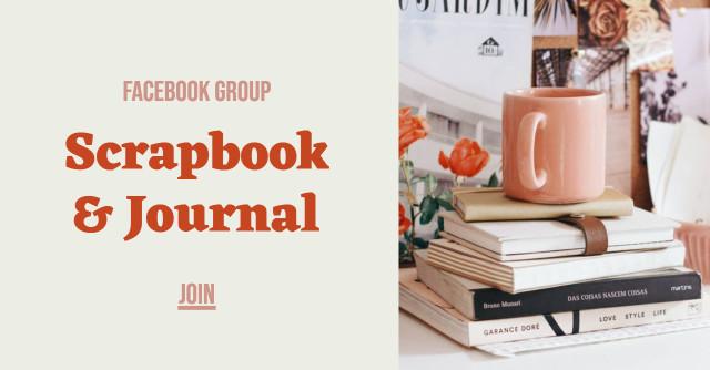 Scrapbook & Journal - Facebook group social template design