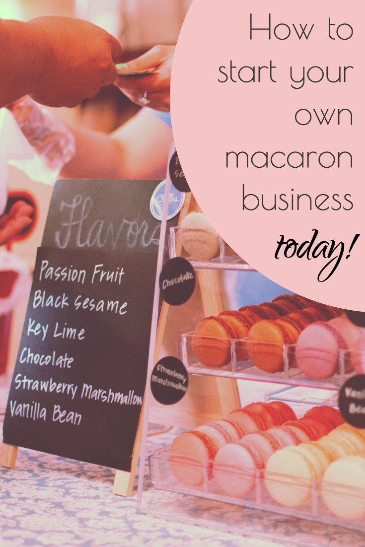 How to start macaron business