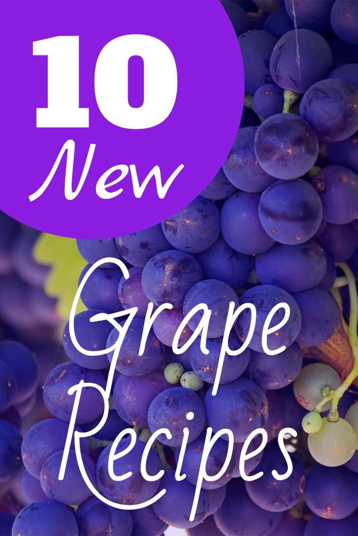 10 new grape recipes