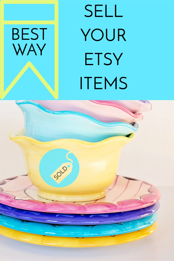 Sell your etsy items
