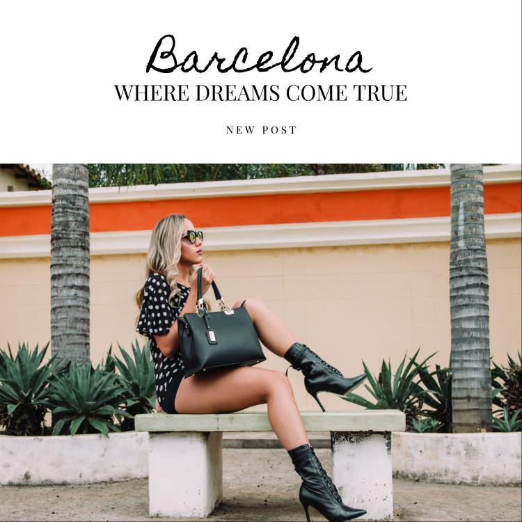 Barcelona - Where dreams come true