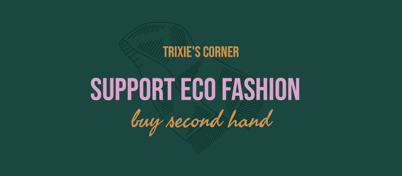 Support Eco Fashion - Buy Second Hand