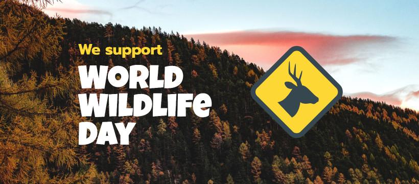 We Support World Wildlife Day