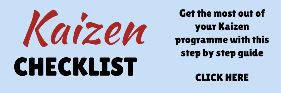 the Kaizen checklist - key to improving your effective meeting agenda