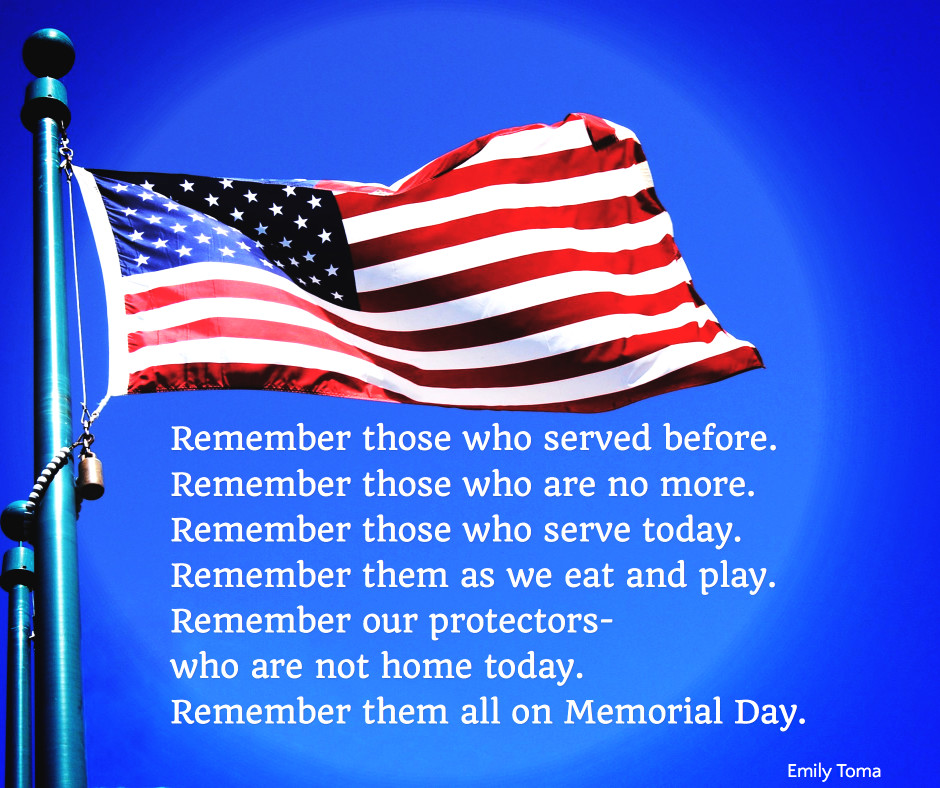 Remember them on Memorial Day