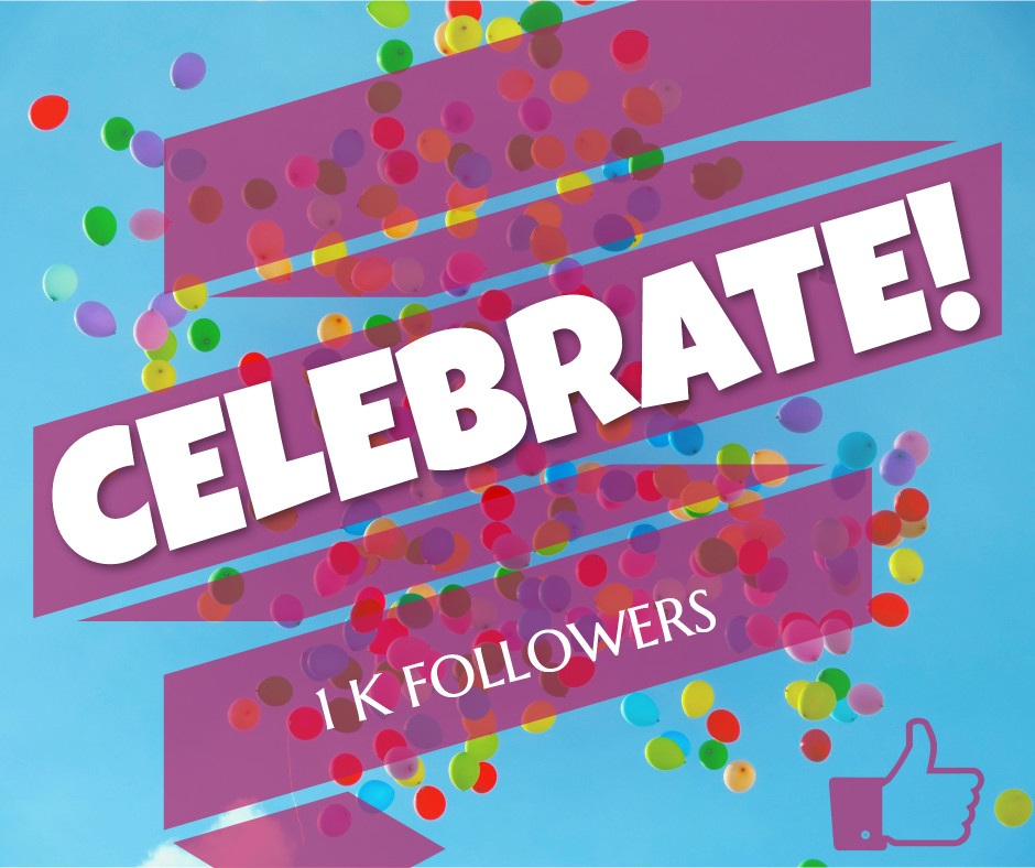 Celebrating 1k followers