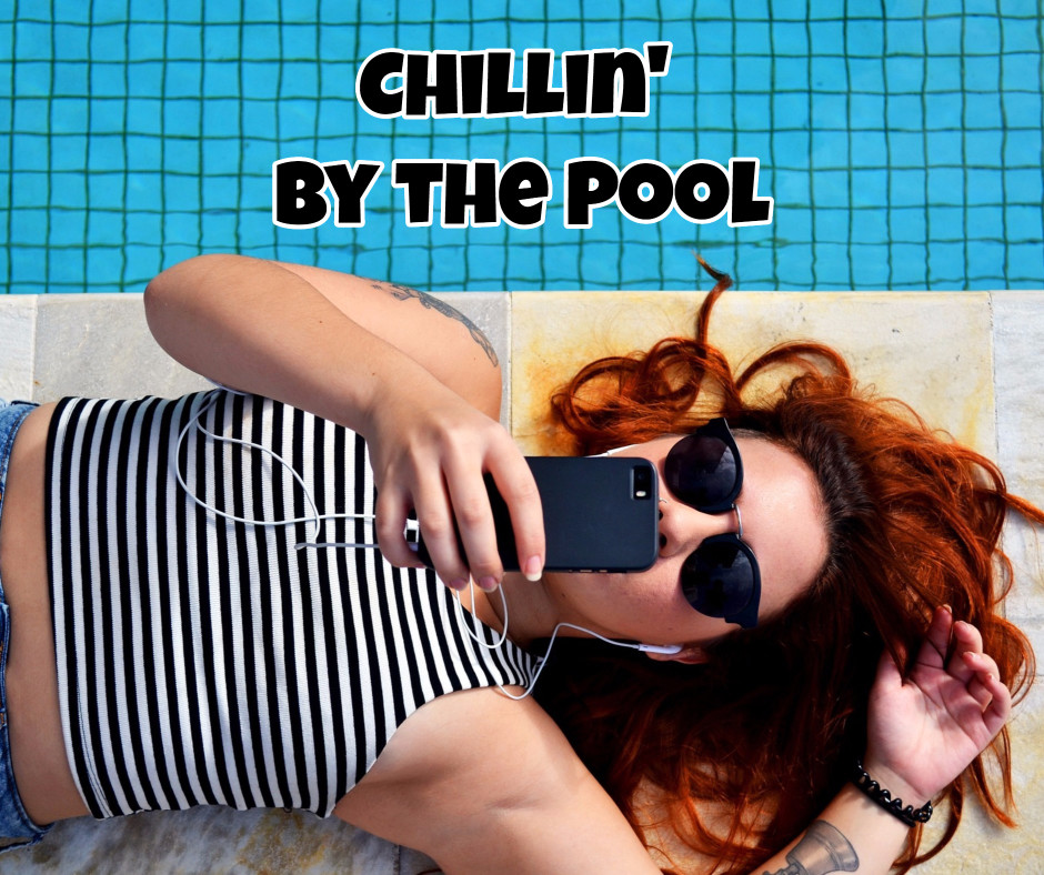 Chillin' by the pool