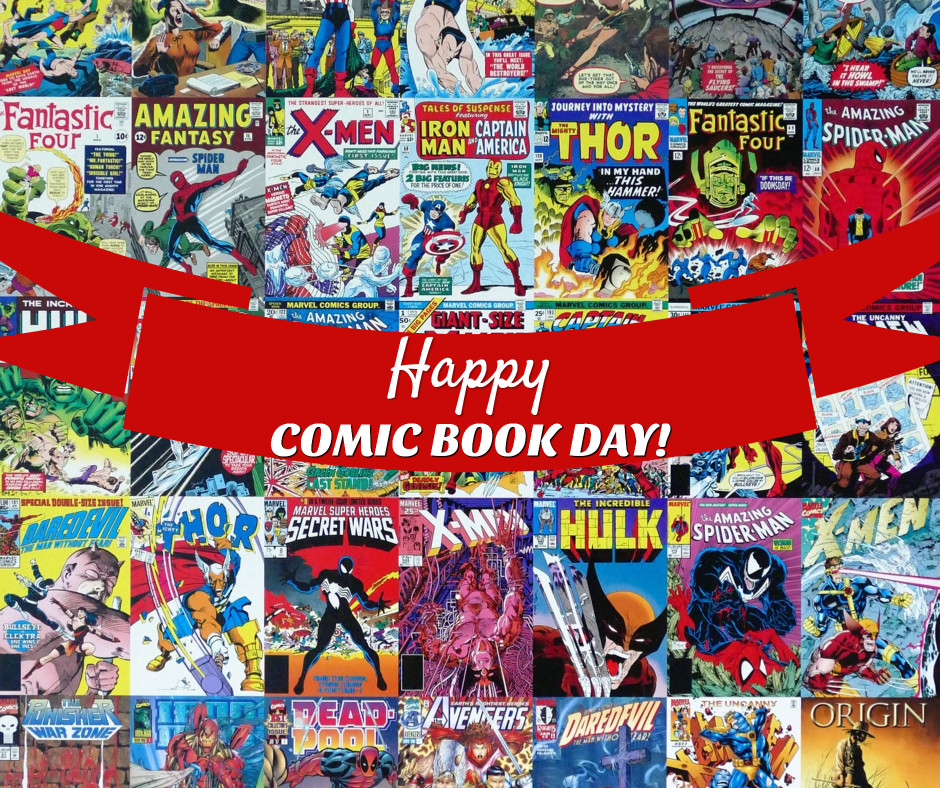 Happy comic book day
