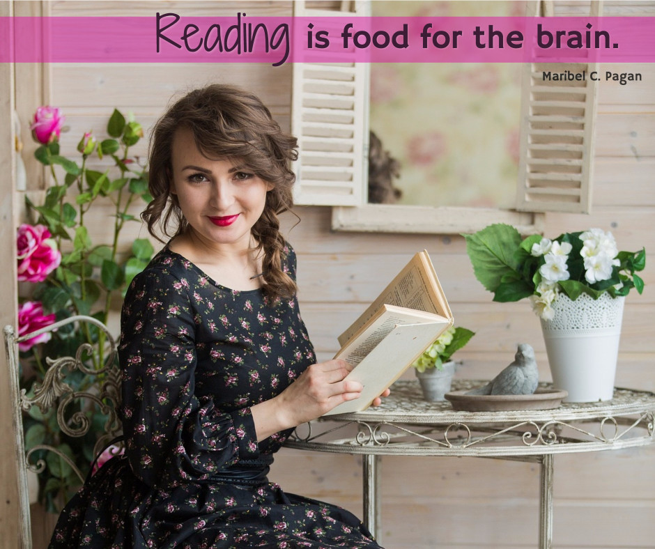 Reading is food for the brain