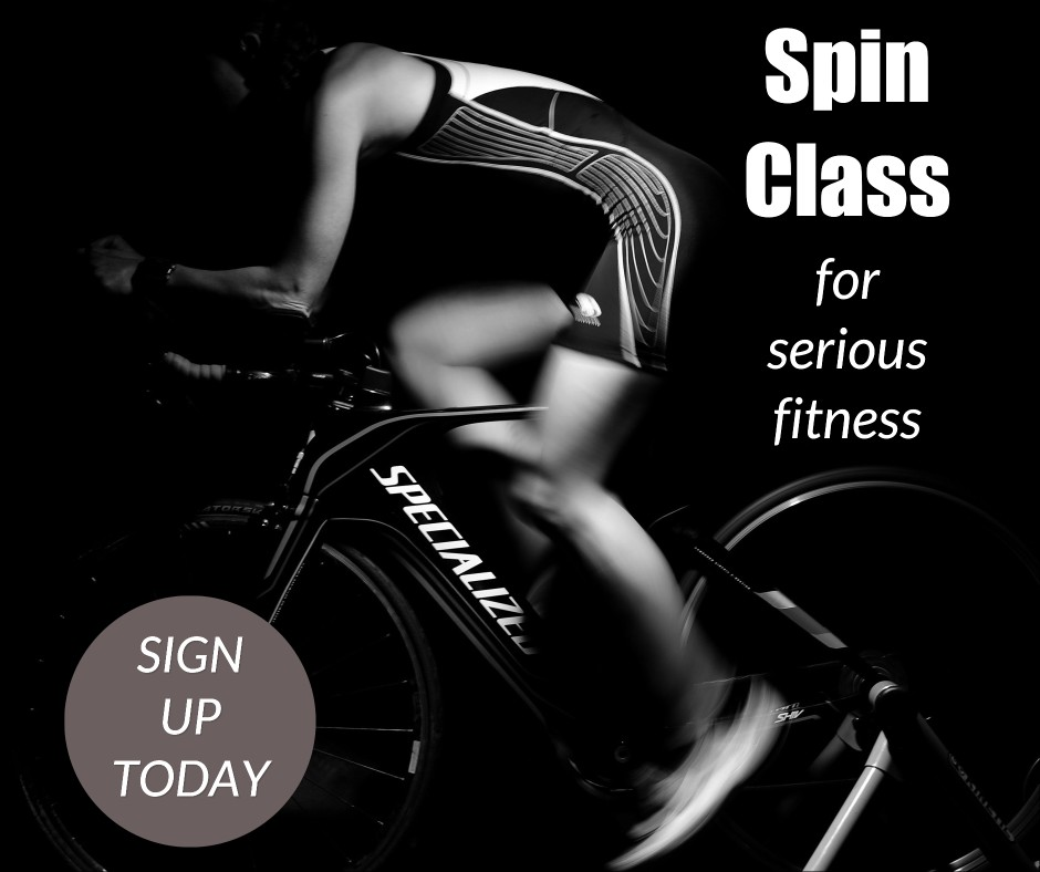 Spin class for serious fitness
