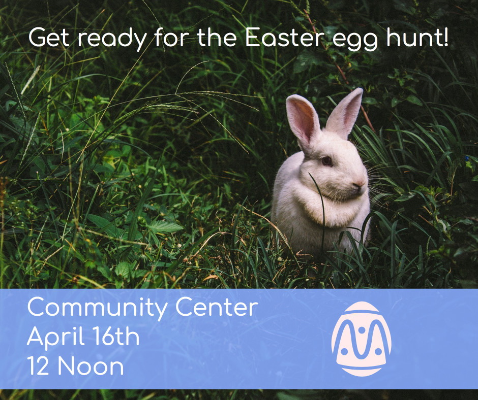 Get ready for the Easter egg hunt