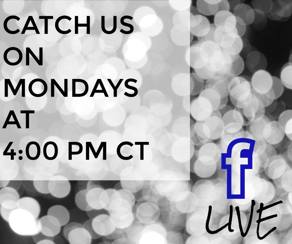 Catch us on Monday