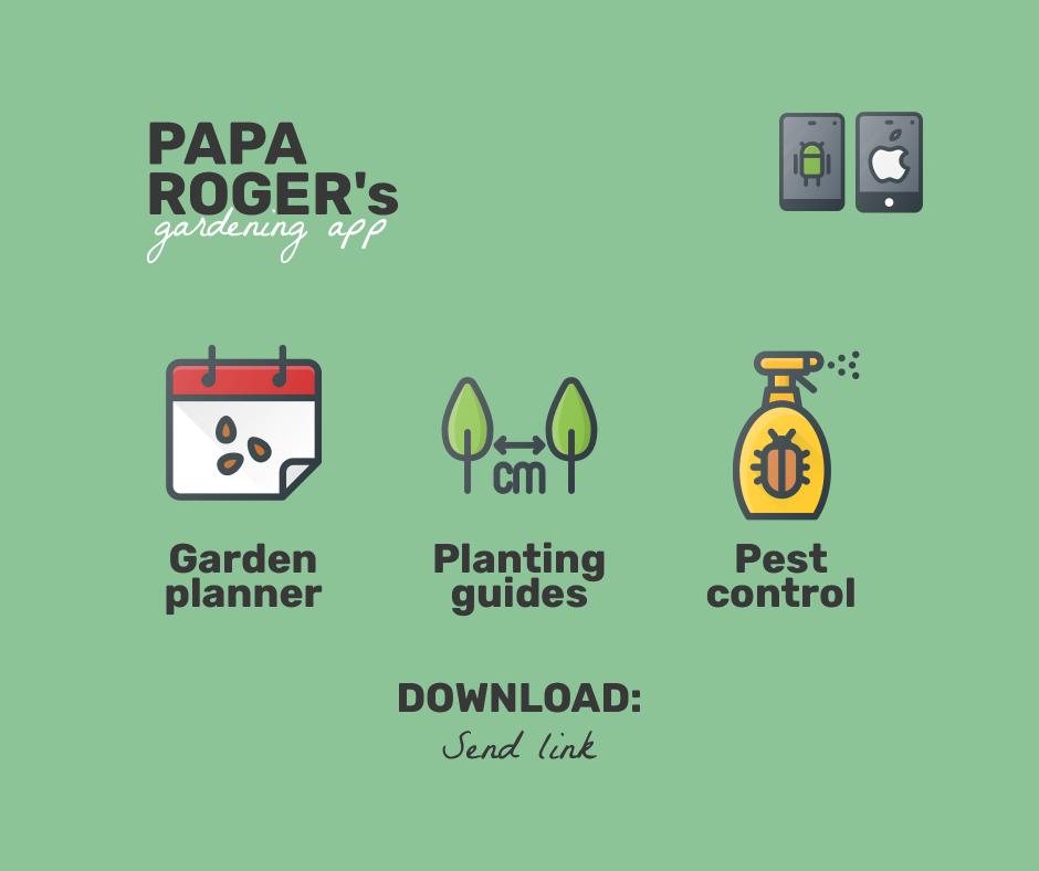 Papa roger's gardening app