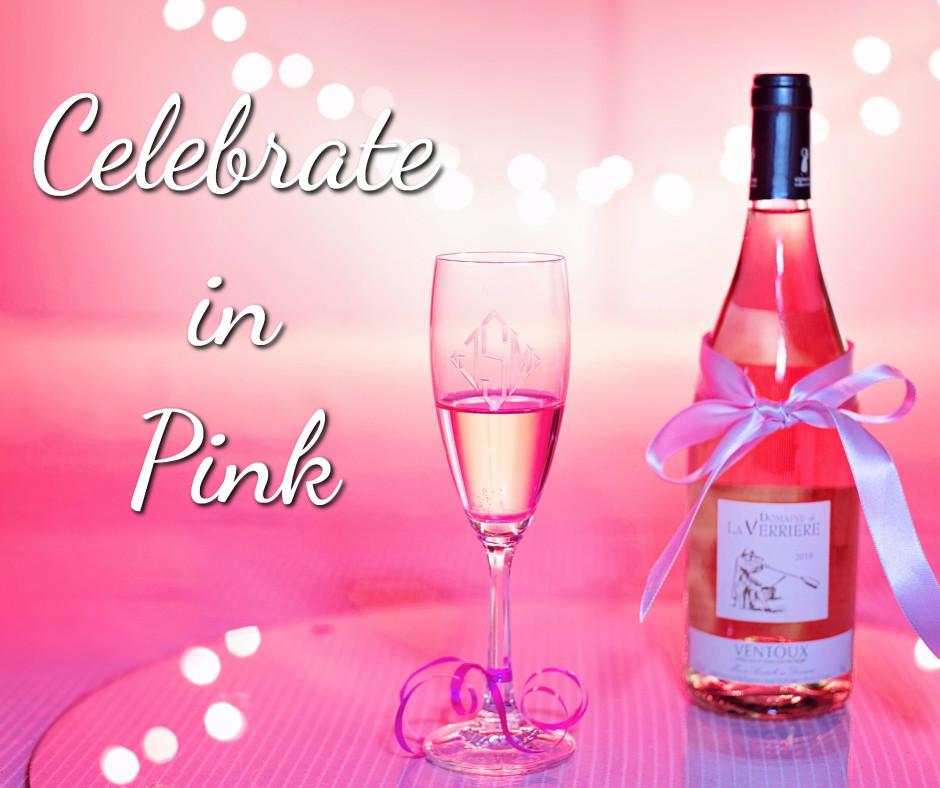 Celebrating in pink